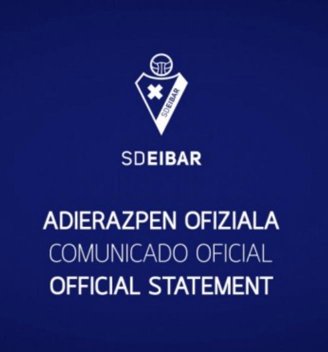 El Eibar y Fran Garagarza acuerdan separar sus caminos